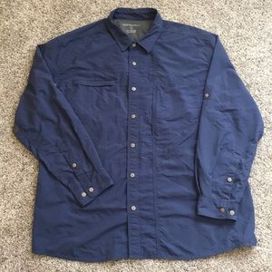 Eddie Bauer Nylon Ventilated Shirt